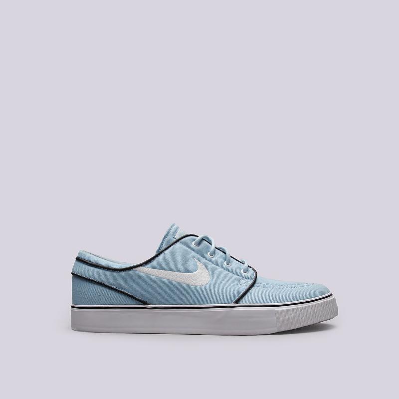 Кроссовки Nike SB Zoom Stefan JanoskiКроссовки lifestyle<br>Текстиль, резина<br><br>Цвет: Голубой<br>Размеры US: 8<br>Пол: Мужской