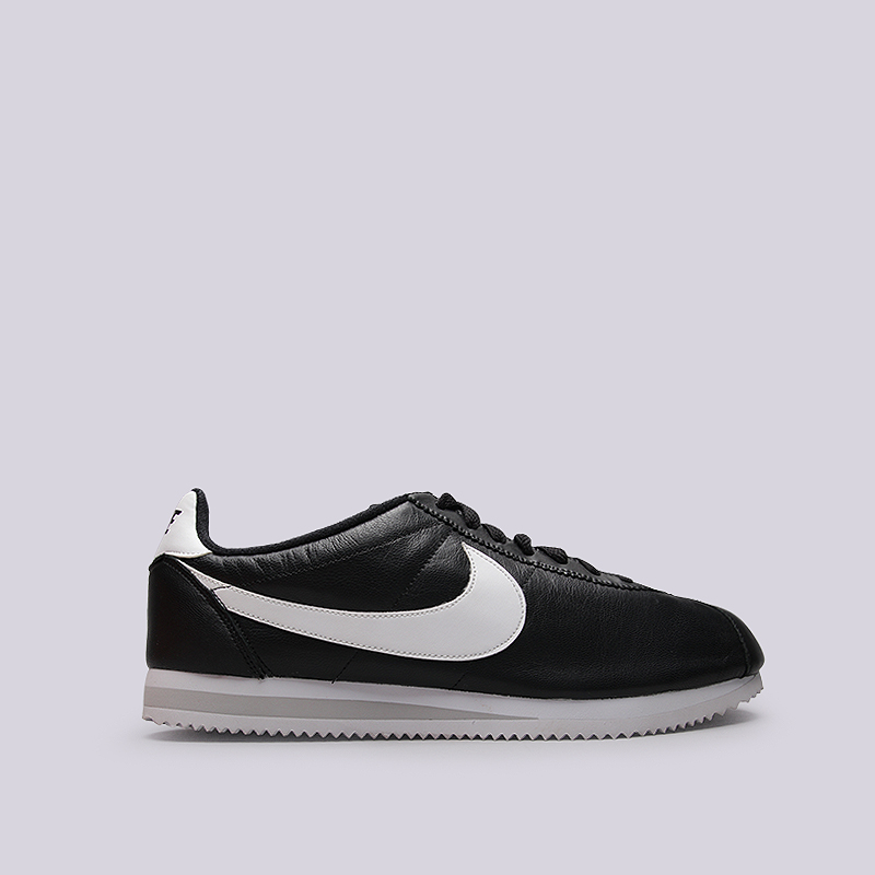 Кроссовки Nike Sportswear Classic Cortez Premium QSКроссовки lifestyle<br>Кожа, текстиль, резина<br><br>Цвет: Черный<br>Размеры US: 12.5;14<br>Пол: Мужской