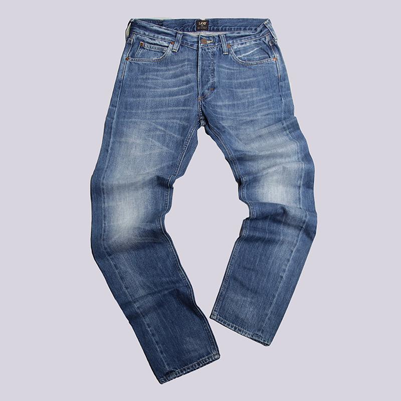 Джинсы Lee 101Брюки и джинсы<br>100% хлопок<br><br>Цвет: Синий<br>Размеры : 30/34;36/34<br>Пол: Мужской