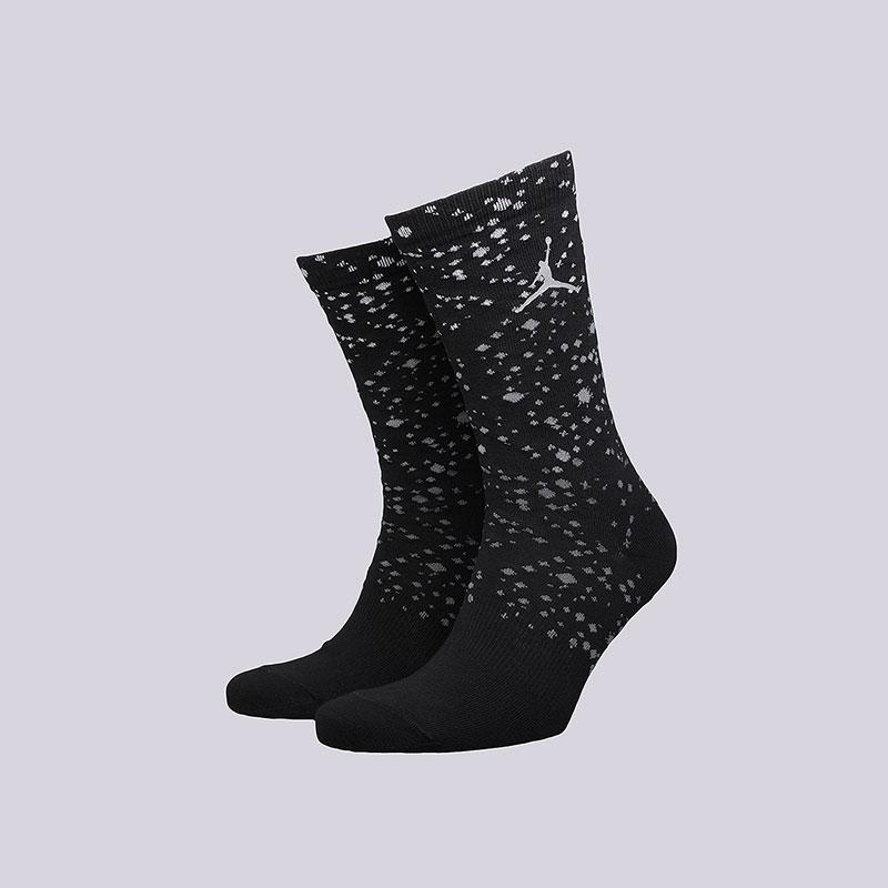 Носки Jordan ЧёрныйНоски<br>Хлопок, нейлон, эластан<br><br>Цвет: Черный<br>Размеры US: M;L<br>Пол: Мужской