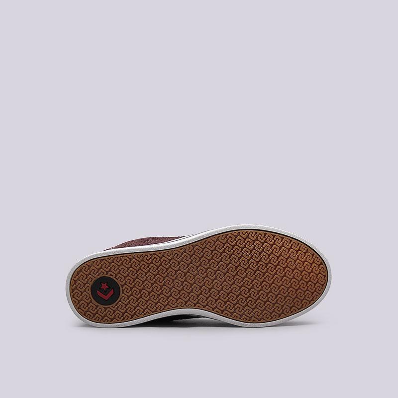 Купить мужские коричневые  кроссовки converse allston в магазинах Streetball изображение - 2 картинки