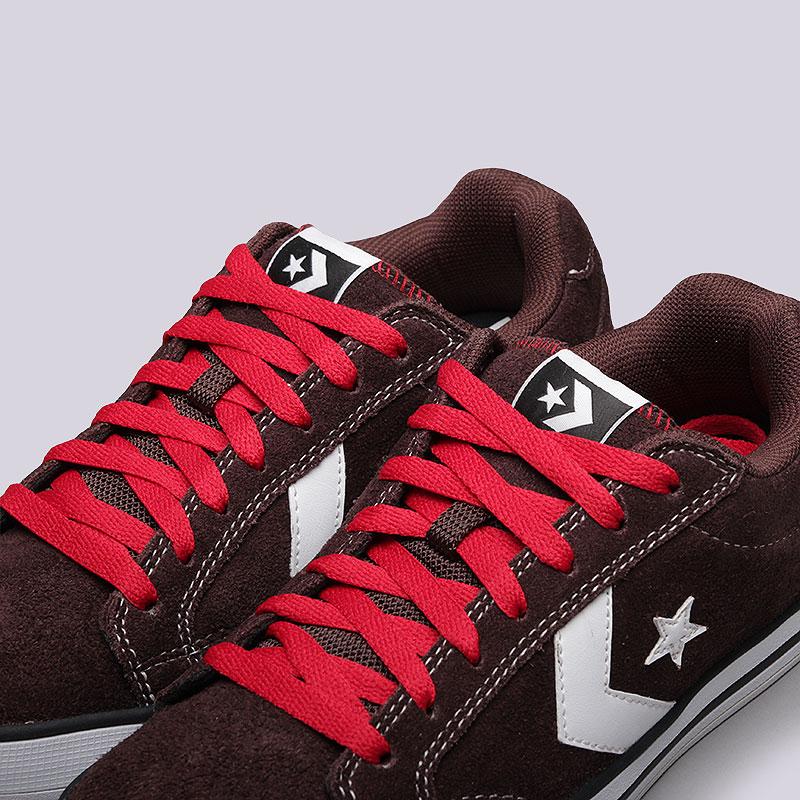 Купить мужские коричневые  кроссовки converse allston в магазинах Streetball изображение - 5 картинки