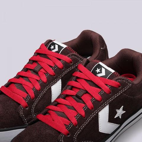 Купить мужские коричневые  кроссовки converse allston в магазинах Streetball - изображение 5 картинки