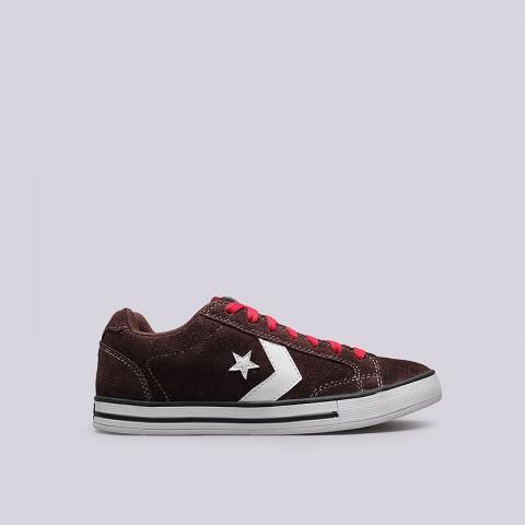 Купить мужские коричневые  кроссовки converse allston в магазинах Streetball - изображение 1 картинки