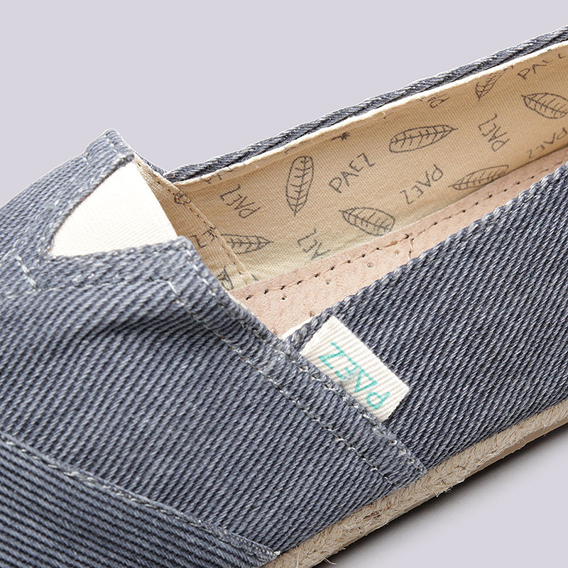 синие  эспадрильи paez classic raw 16105-0043 - цена, описание, фото 4