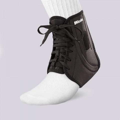 черный  бандаж mueller atf2 ankle brace s 43331 - цена, описание, фото 1