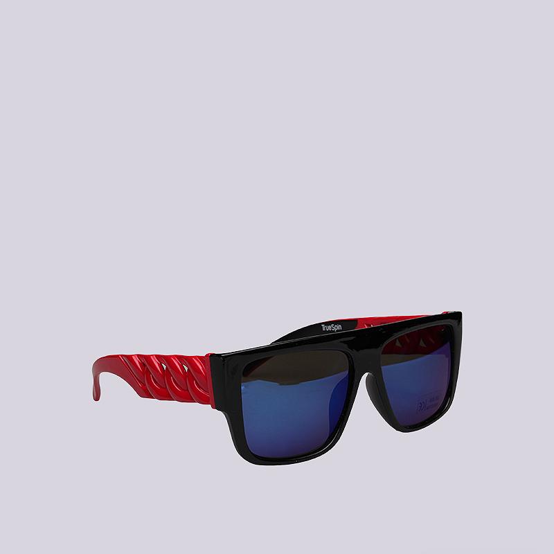 Очки True spin Las CadenasОчки<br>Пластик<br><br>Цвет: Черный, красный<br>Размеры : OS