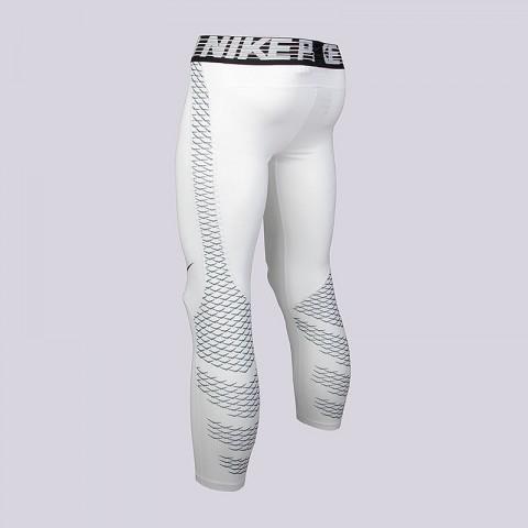 мужские белые  кальсоны nike m np hprcl tght 3qt 828164-100 - цена, описание, фото 2
