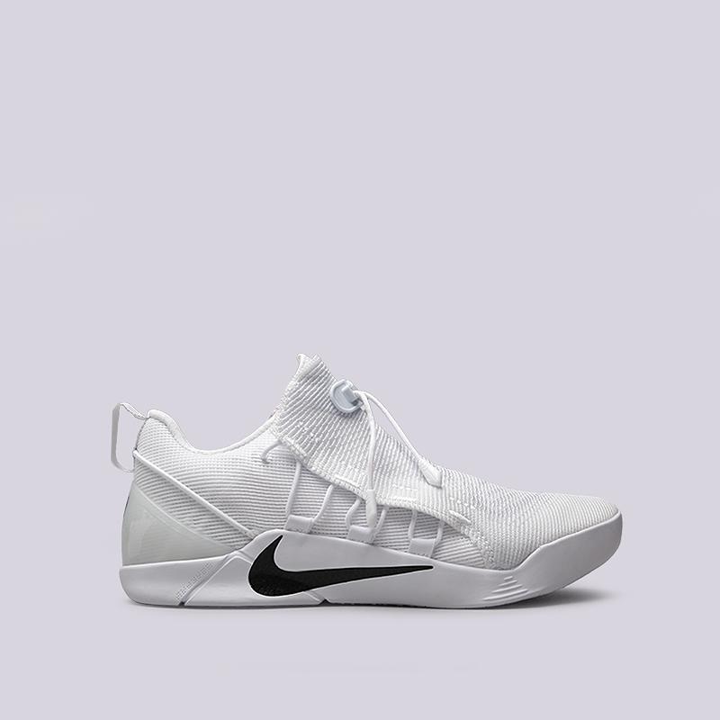Кроссовки Nike Kobe A.D. NXTКроссовки баскетбольные<br>Текстиль, резина, пластик<br><br>Цвет: Белый<br>Размеры US: 8;8.5;9;9.5;10;10.5;11;13<br>Пол: Мужской