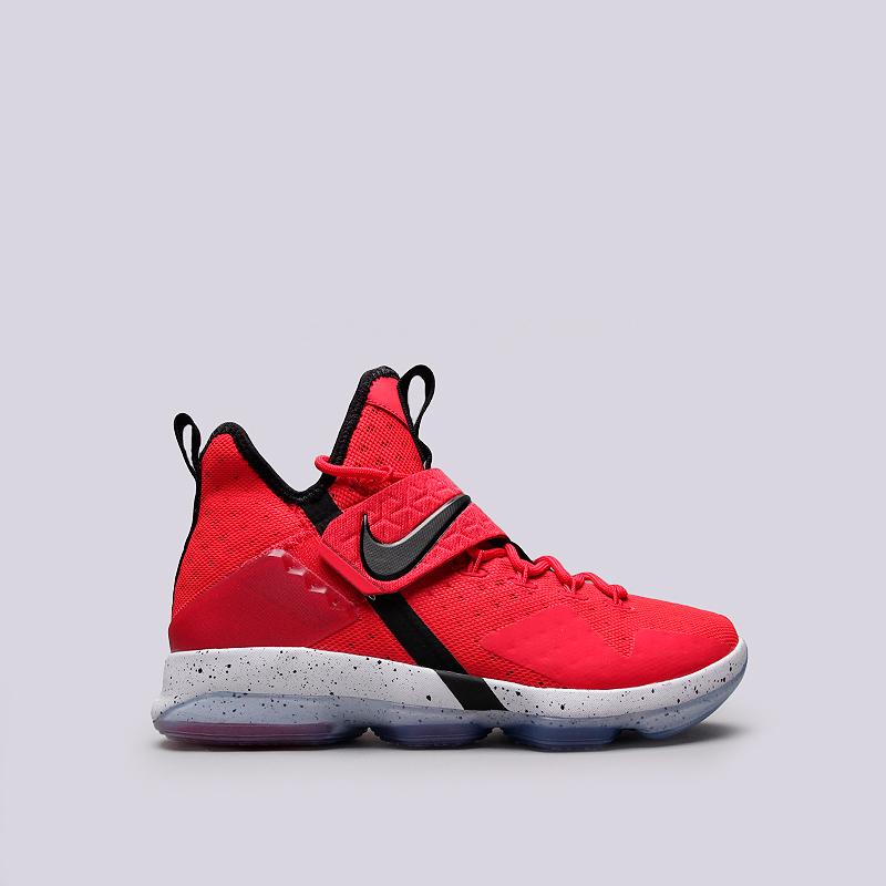 Кроссовки Nike Lebron XIVКроссовки баскетбольные<br>Кожа, текстиль, резина, пластик<br><br>Цвет: Красный<br>Размеры US: 8;8.5;9;9.5;10.5;11.5;12<br>Пол: Мужской