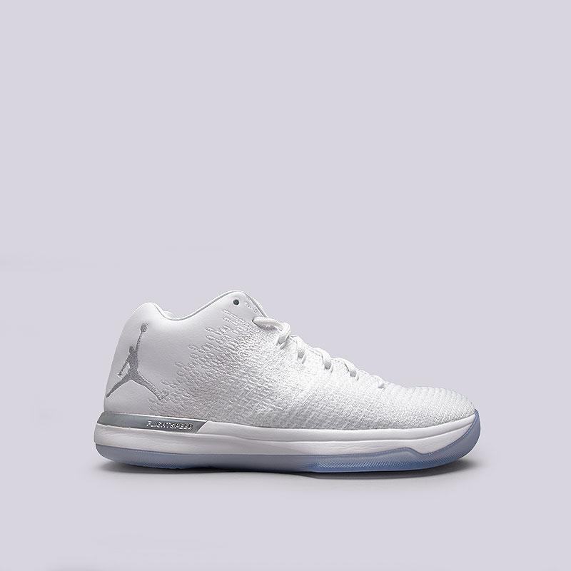 Кроссовки  Jordan XXXI LowКроссовки баскетбольные<br>Текстиль, синтетика, резина<br><br>Цвет: Белый<br>Размеры US: 8;8.5;9;9.5;10;10.5<br>Пол: Мужской