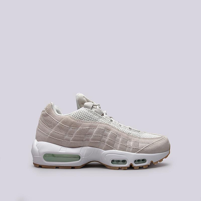 Кроссовки Nike Sportswear Air Max 95 PRMКроссовки lifestyle<br>Кожа, текстиль, резина<br><br>Цвет: Бежевый<br>Размеры US: 9.5;11;12<br>Пол: Мужской