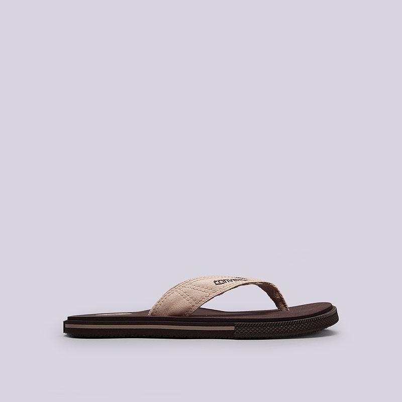 мужские коричневые  сланцы converse ct sandal 1X698 - цена, описание, фото 1
