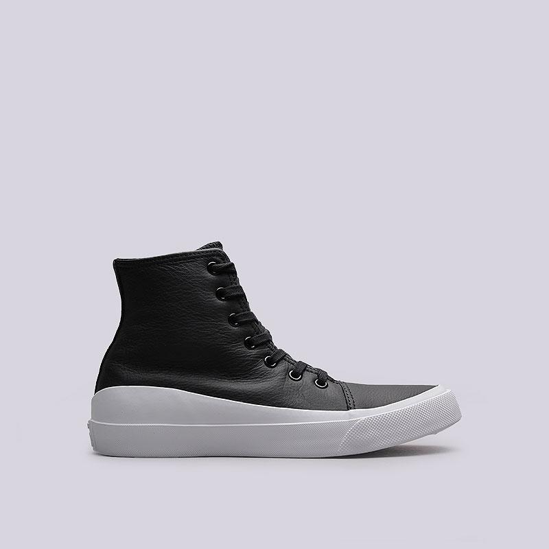 Кроссовки Converse AS Quantum HiКроссовки lifestyle<br>Кожа, текстиль, резина<br><br>Цвет: Чёрный<br>Размеры EUR: 41