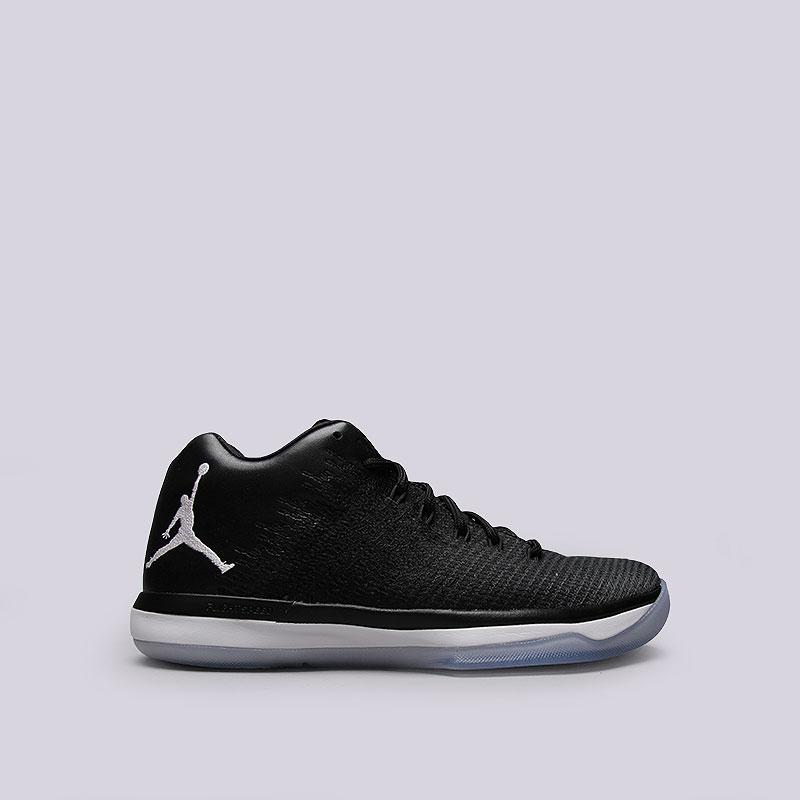 Кроссовки  Jordan XXXI LowКроссовки lifestyle<br>Текстиль, синтетика, резина<br><br>Цвет: Чёрный<br>Размеры US: 8;8.5;9;9.5;10;11;13<br>Пол: Мужской