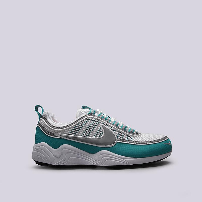 Кроссовки Nike Sportswear Air Zoom SPRDNКроссовки lifestyle<br>Текстиль, резина, пластик<br><br>Цвет: Белый, мятный<br>Размеры US: 8;8.5;9;9.5;10;10.5;11;11.5<br>Пол: Мужской