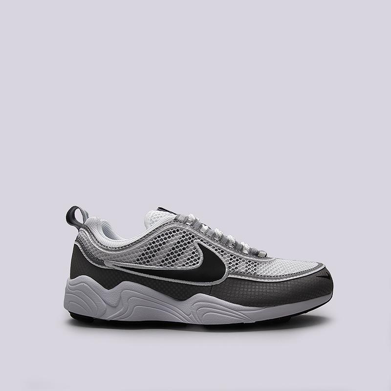 Кроссовки Nike Sportswear Air Zoom SPRDNКроссовки lifestyle<br>Текстиль, резина, пластик<br><br>Цвет: Белый, серый<br>Размеры US: 9;9.5<br>Пол: Мужской