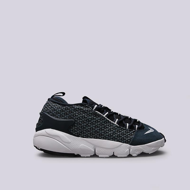 Кроссовки Nike Sportswear Air Footscape NM JCRDКроссовки lifestyle<br>Кожа, текстиль, резина, пластик<br><br>Цвет: Синий<br>Размеры US: 8;8.5;9;9.5;10;10.5;11;11.5;12<br>Пол: Мужской