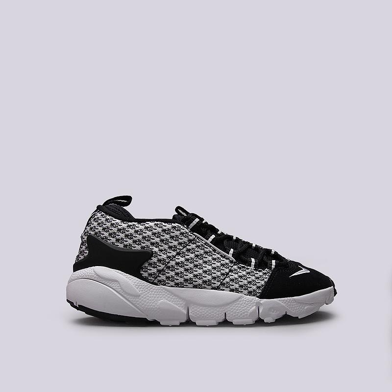 Кроссовки Nike Sportswear Air Footscape NM JCRDКроссовки lifestyle<br>Кожа, текстиль, резина, пластик<br><br>Цвет: Черный, белый<br>Размеры US: 8;8.5;9;9.5;10;10.5;11<br>Пол: Мужской