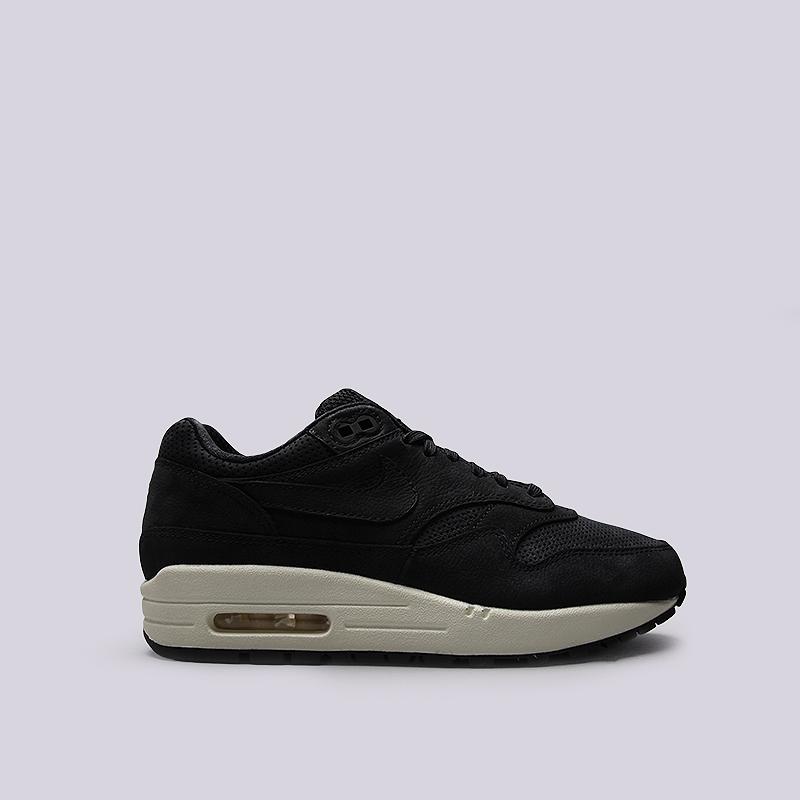 Кроссовки Nike Sportswear WMNS Air Max 1 PinnacleКроссовки lifestyle<br>Кожа, текстиль, резина<br><br>Цвет: Черный<br>Размеры US: 6;7;7.5;8;8.5<br>Пол: Женский