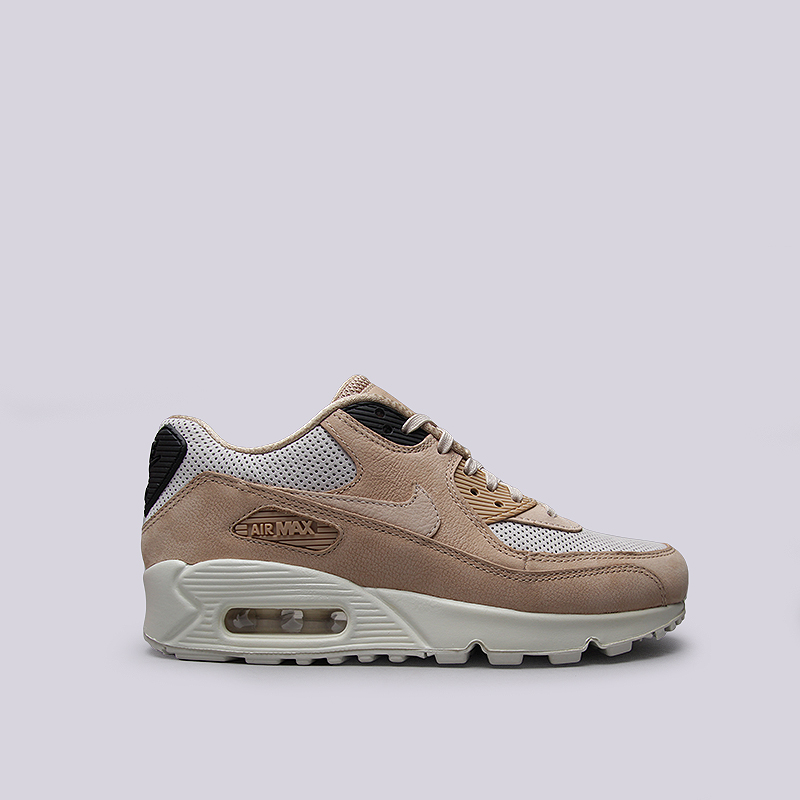 Кроссовки Nike Sportswear WMNS Air Max 90 PinnacleКроссовки lifestyle<br>Кожа, текстиль, резина<br><br>Цвет: Коричневый<br>Размеры US: 6.5;7;7.5;8;8.5;9.5<br>Пол: Женский