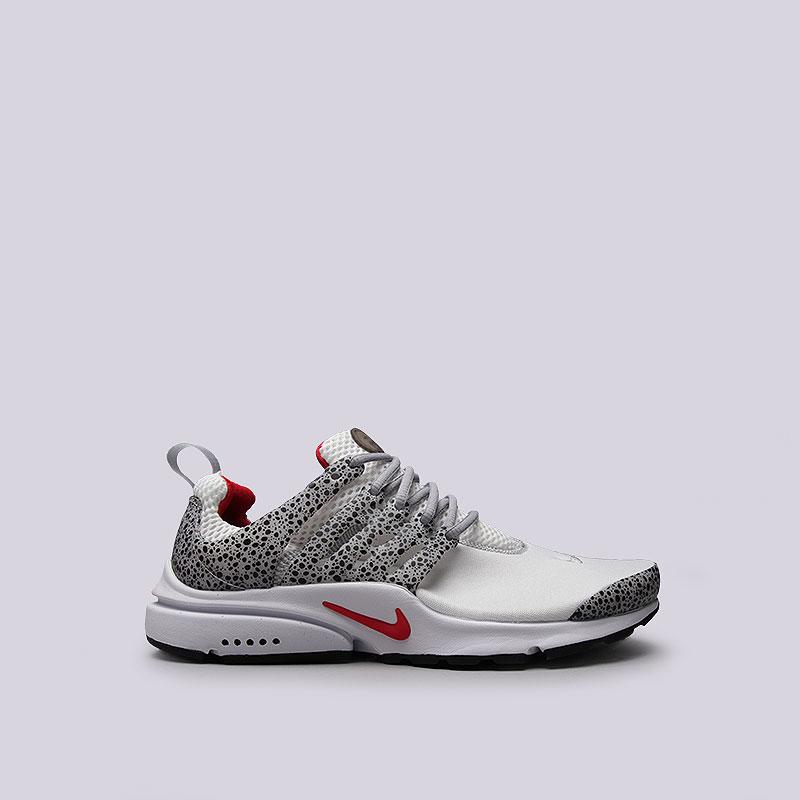 Кроссовки  Nike Sportswear Air Presto QSКроссовки lifestyle<br>Текстиль, резина, пластик<br><br>Цвет: Серый<br>Размеры US: 9;10;11;12<br>Пол: Мужской