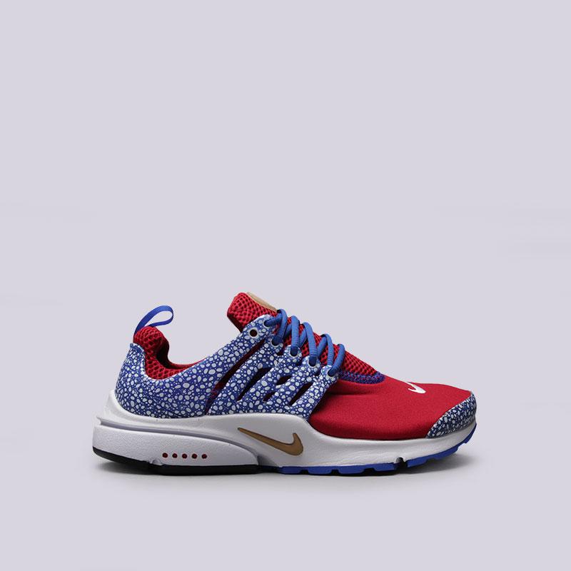 Кроссовки Nike Sportswear Air Presto QSКроссовки lifestyle<br>Текстиль, резина, пластик<br><br>Цвет: Красный<br>Размеры US: 6;9;11