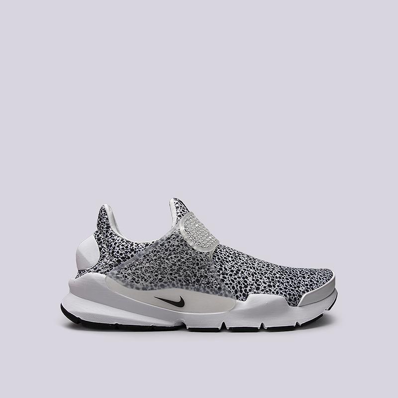 Кроссовки Nike Sportswear Sock Dart QSКроссовки lifestyle<br>Текстиль, резина, пластик<br><br>Цвет: Белый, черный<br>Размеры US: 7;8<br>Пол: Мужской