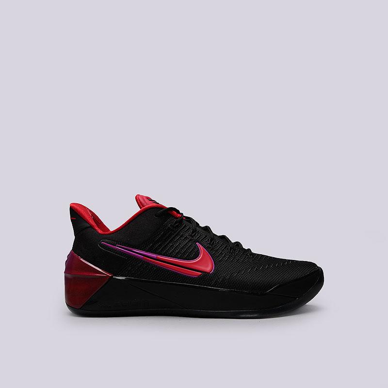 Кроссовки Nike Kobe A.D.Кроссовки баскетбольные<br>Текстиль, синтетика, резина<br><br>Цвет: Чёрный<br>Размеры US: 8;9;9.5;10.5;12<br>Пол: Мужской