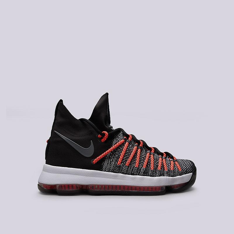 Кроссовки  Nike Zoom KD9 EliteКроссовки баскетбольные<br>Текстиль, пластик, резина<br><br>Цвет: Чёрный<br>Размеры US: 8;8.5;9.5;10.5;11;12.5<br>Пол: Мужской