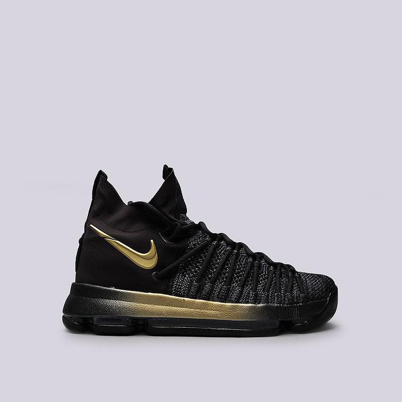 Кроссовки Nike Zoom KD 9 EliteКроссовки баскетбольные<br>Текстиль, пластик, резина<br><br>Цвет: Чёрный<br>Размеры US: 8;8.5;9;9.5;10;10.5;11;11.5;12;12.5;13.5;14<br>Пол: Мужской