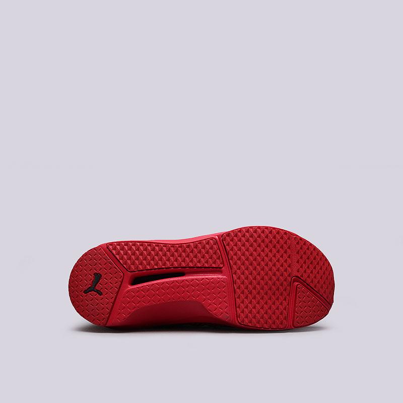 женские красные  кроссовки puma fenty trainer 18919303 - цена, описание, фото 2