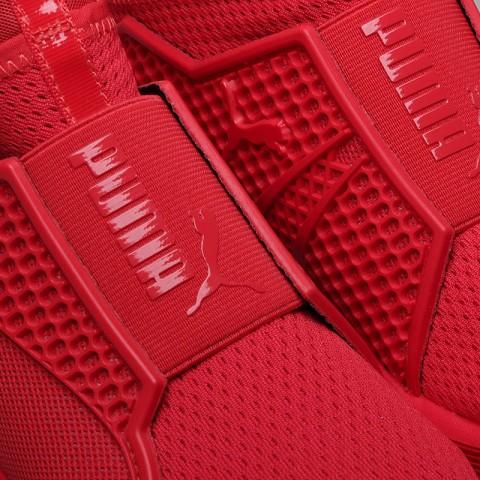 женские красные  кроссовки puma fenty trainer 18919303 - цена, описание, фото 5