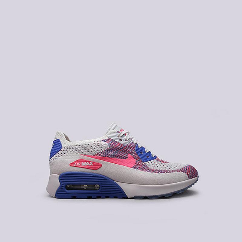 Кроссовки Nike Sportswear WMNS Air Max 90 Ultra 2.0 FlyknitКроссовки lifestyle<br>Текстиль, резина<br><br>Цвет: Белый<br>Размеры US: 6;6.5;7;7.5;8;8.5<br>Пол: Женский