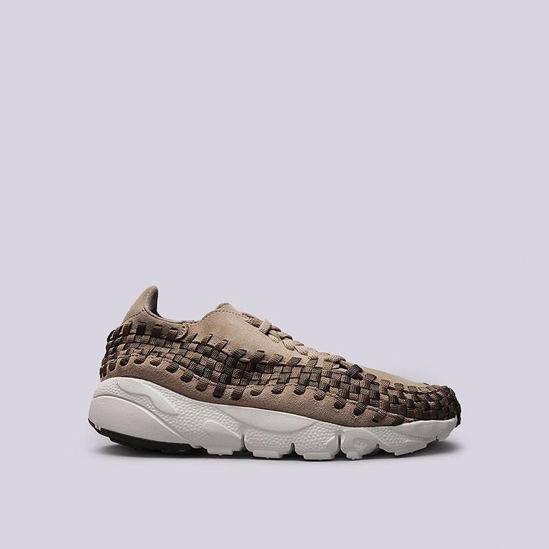 Кроссовки  Nike Sportswear Air Footscape Woven NMКроссовки lifestyle<br>Кожа, синтетика, текстиль, резина<br><br>Цвет: Хаки<br>Размеры US: 8;8.5;9;10.5;11;11.5;12<br>Пол: Мужской