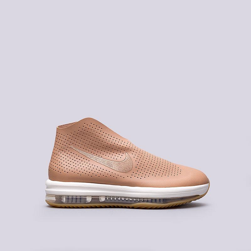 Кроссовки  Nike Sportswear WMNS Zoom ModairnaКроссовки lifestyle<br>Кожа, пластик, текстиль, резина<br><br>Цвет: Бежевый<br>Размеры US: 7.5;8.5;9;9.5<br>Пол: Женский