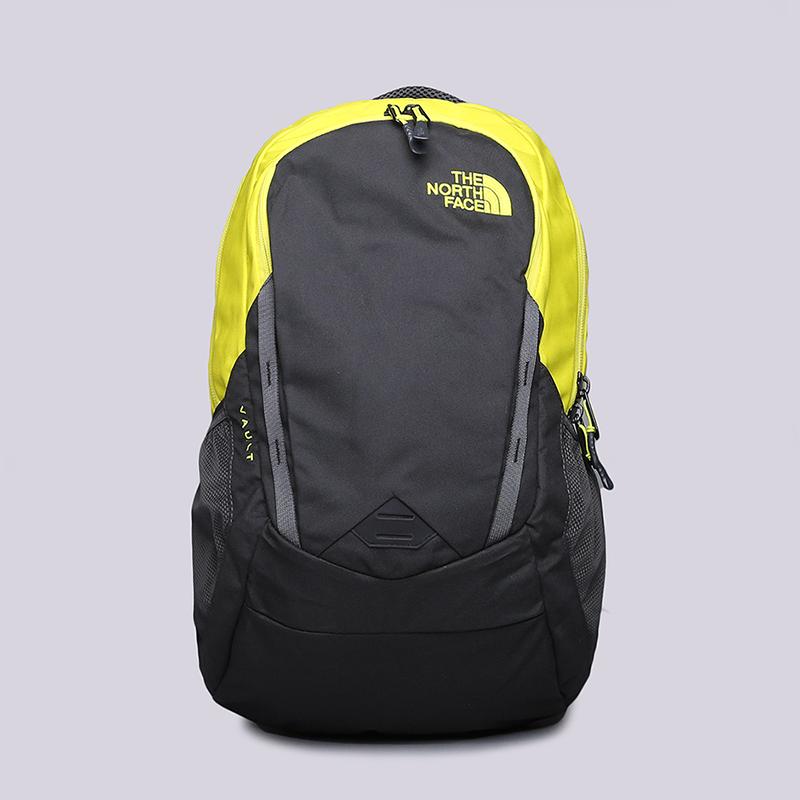 Рюкзак The North Face Vault 27LСумки, рюкзаки<br>Полиэстер<br><br>Цвет: Черный, желтый<br>Размеры US: OS
