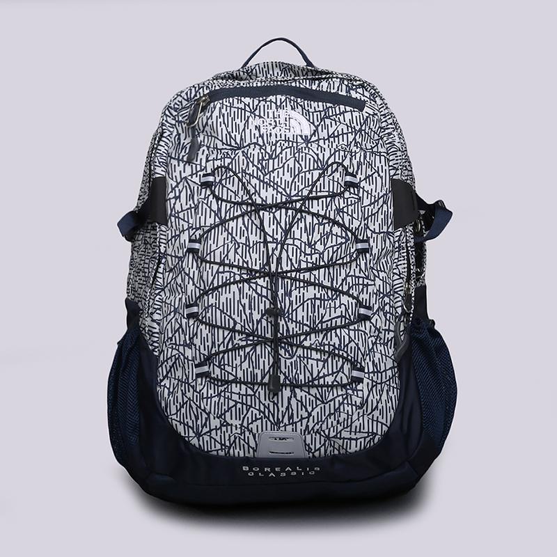 Рюкзак The North Face Borealis Classic 27LСумки, рюкзаки<br>Полиэстер<br><br>Цвет: Синий, белый<br>Размеры US: OS