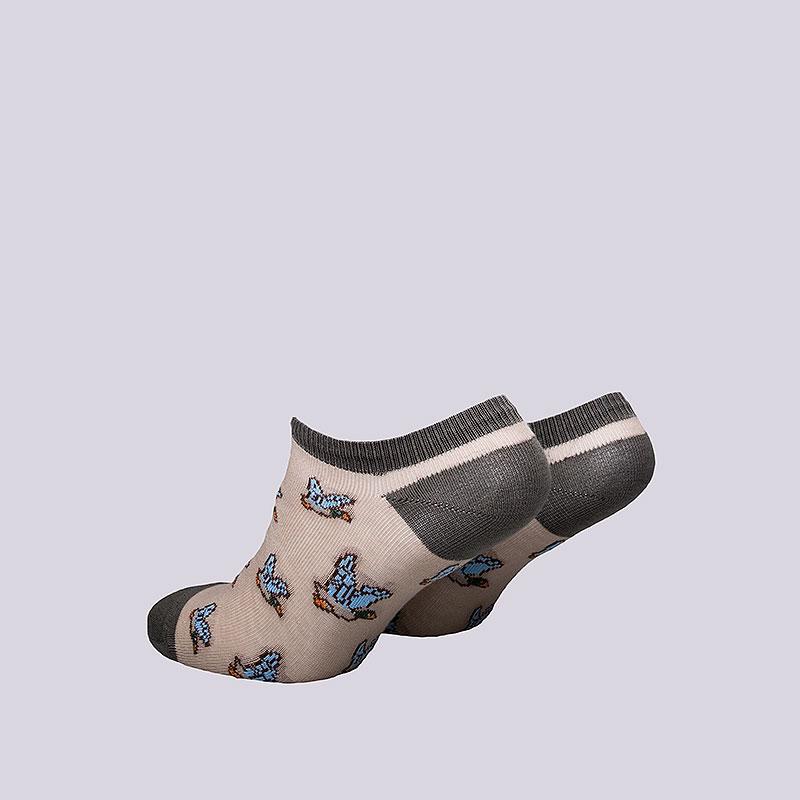 женские коричневые  носки запорожец heritage дичь WДичь корот-крчн/беж - цена, описание, фото 2