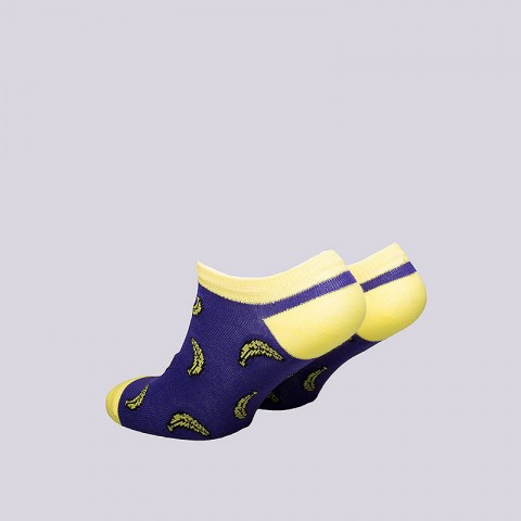 женские фиолетовые  носки запорожец heritage банан WБанан корот-фиолет - цена, описание, фото 2