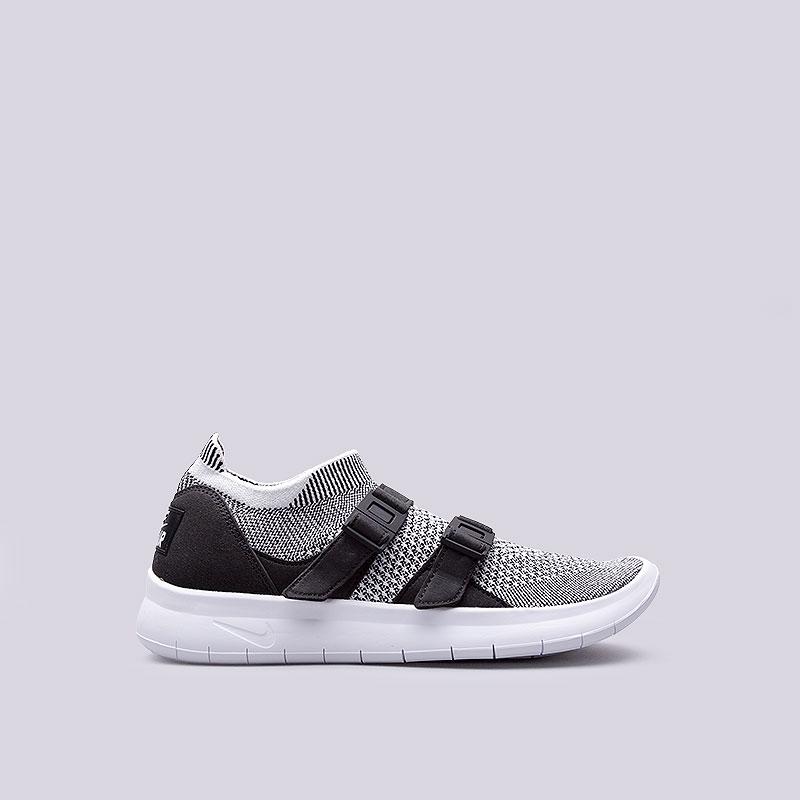 Кроссовки  Nike Sportswear WMNS Air Sockracer FlyknitКроссовки lifestyle<br>Текстиль, пластик<br><br>Цвет: Серый<br>Размеры US: 6;6.5;7;7.5;8;8.5;9<br>Пол: Женский
