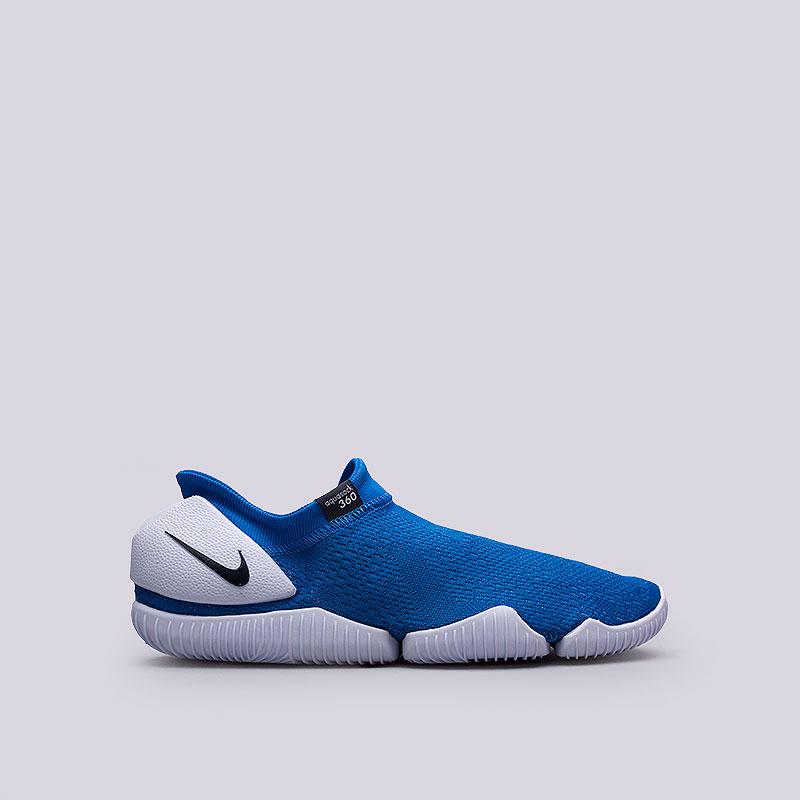 Кроссовки  Nike Aqua Sock 360Кроссовки lifestyle<br>Текстиль, пластик<br><br>Цвет: Синий<br>Размеры US: 9<br>Пол: Мужской