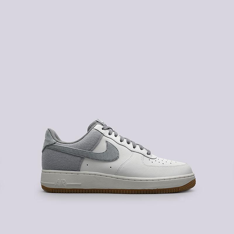 Кроссовки Nike Sportswear Air Force 1Кроссовки lifestyle<br>Кожа, текстиль, резина<br><br>Цвет: Белый<br>Размеры US: 9.5<br>Пол: Мужской