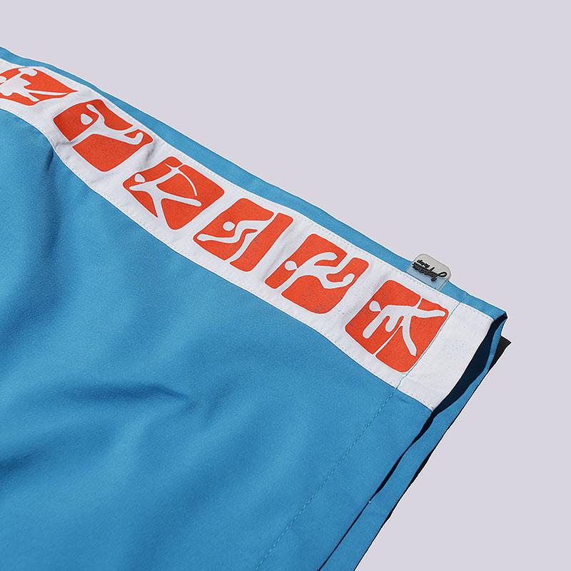 мужские голубые  шорты запорожец heritage sport Sport-blue - цена, описание, фото 2