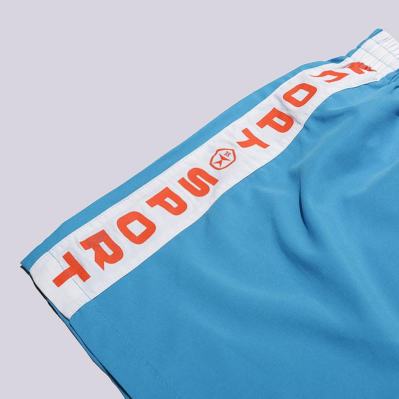 мужские голубые  шорты запорожец heritage sport Sport-blue - цена, описание, фото 3