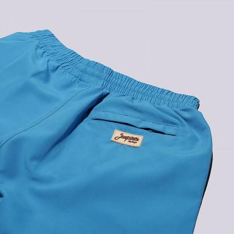 мужские голубые  шорты запорожец heritage sport Sport-blue - цена, описание, фото 4
