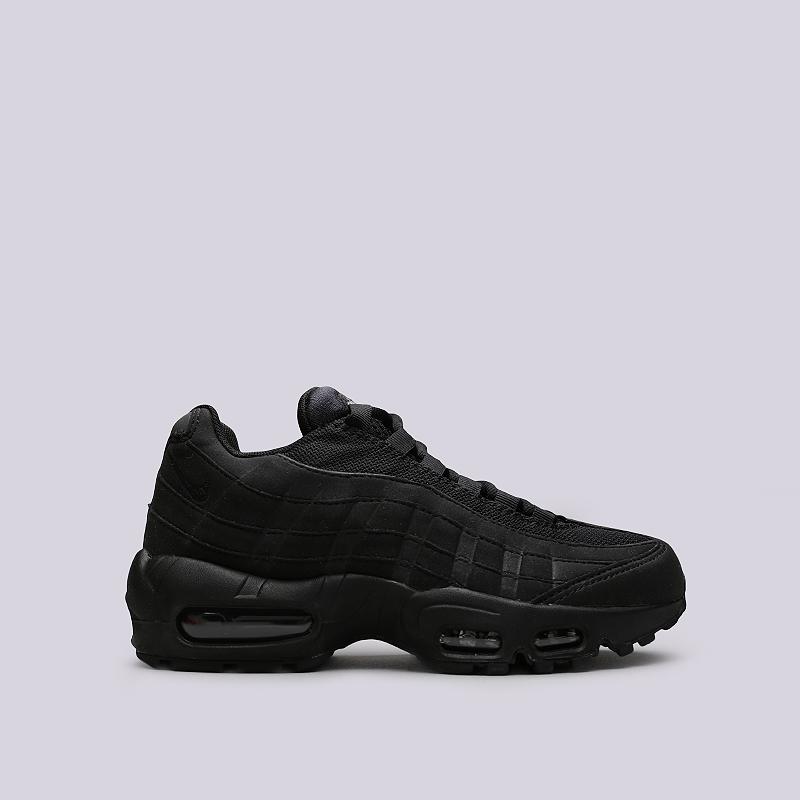 Кроссовки Nike WMNS Air Max 95Кроссовки lifestyle<br>Текстиль, резина, пластик<br><br>Цвет: Черный<br>Размеры US: 6<br>Пол: Женский