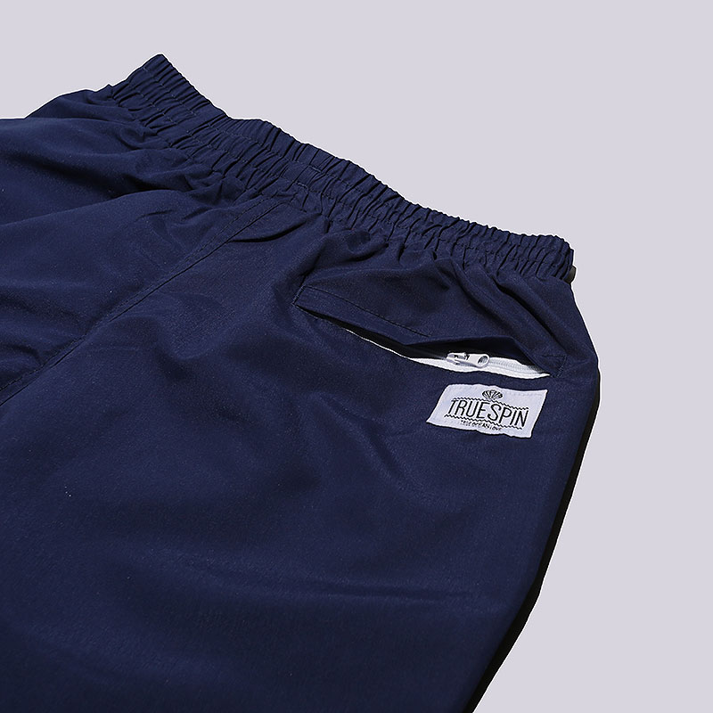 мужские синие  шорты true spin basics swim shorts Basics Swim-navy - цена, описание, фото 2