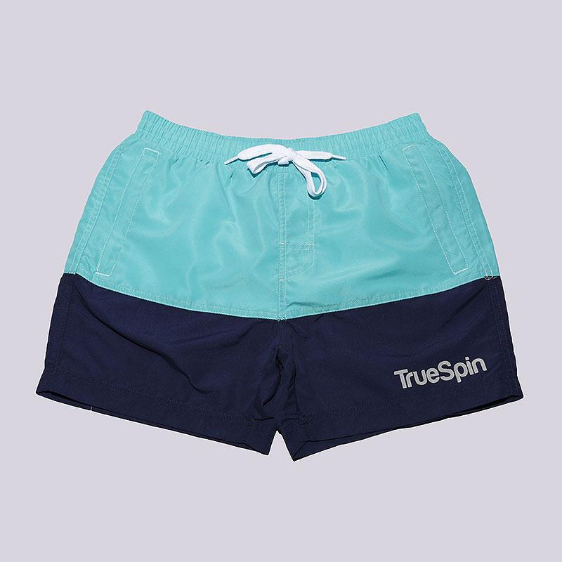 Шорты True spin Basics Swim ShortsШорты<br>Полиэстер<br><br>Цвет: Голубой<br>Размеры : S;M;L<br>Пол: Мужской