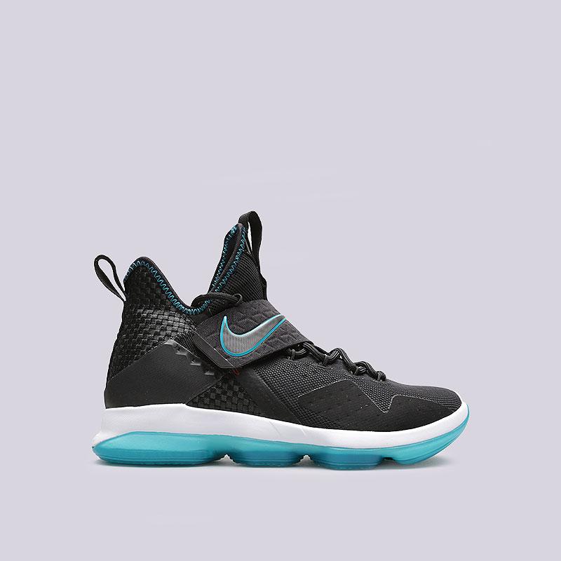 Кроссовки  Nike Lebron XIV PRMКроссовки баскетбольные<br>Синтетика, текстиль, резина<br><br>Цвет: Чёрный<br>Размеры US: 8;8.5;9;9.5;10.5;11;11.5;12<br>Пол: Мужской